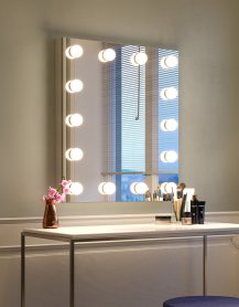 Miroir de maquillage, visage, Hollywood - Witra