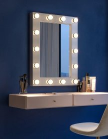 Miroir de maquillage, visage, Hollywood - Klaris