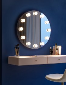 Miroir de maquillage, visage, Hollywood - Glori