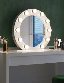 Miroir de maquillage, visage, Hollywood - Setil