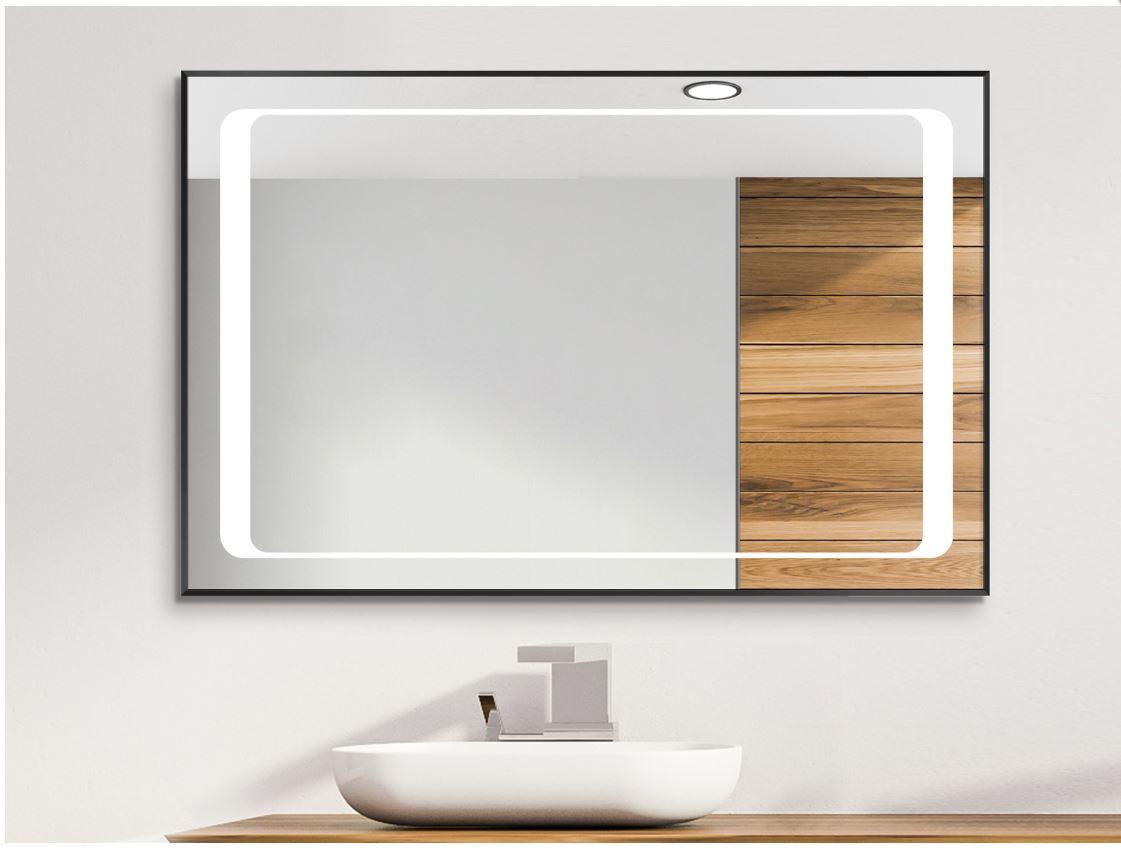 Miroir De Salle De Bains Led Cadre Aluminium Linga Miroir Pour Toi