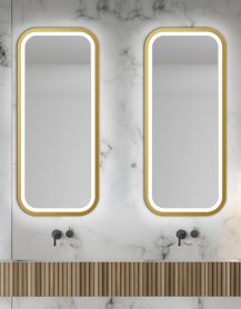 Miroir MIRA LIGHT Gold