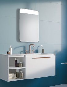 Miroir SHELF LED
